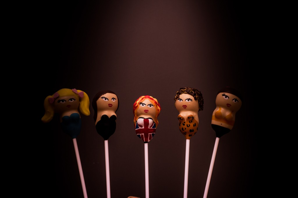 Spice Girls cake pops