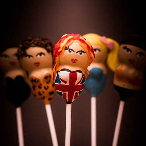 Ginger Spice cake pop