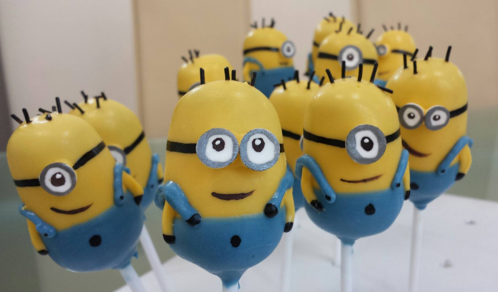 Despicable Cake Pops