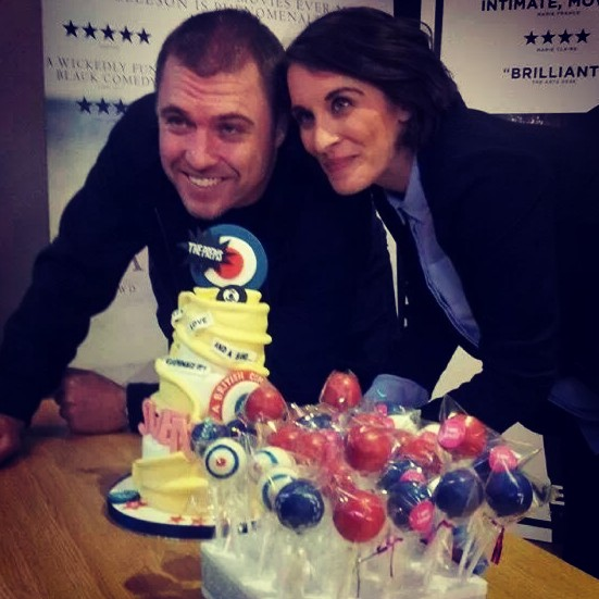 Svengalie movie screening cake and cake pops