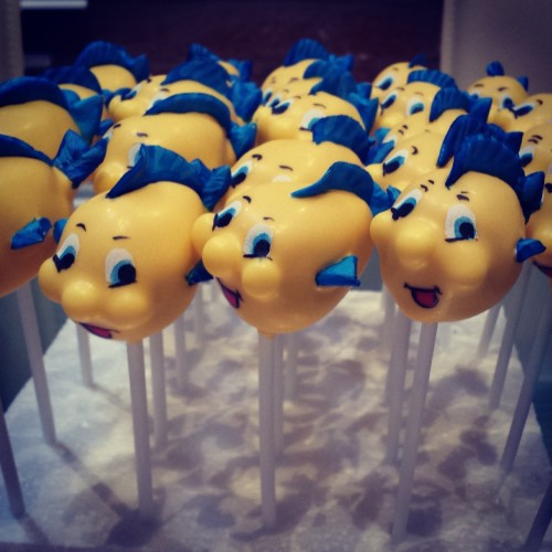 Flounder the fish cake pops