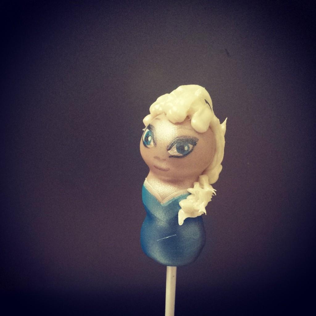 Frozen cake pops - Elsa